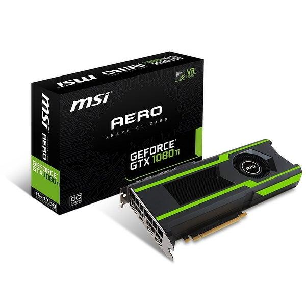MSI GeForce GTX 1080 Ti AERO 11GB OC Graphics Card