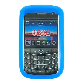 BlackBerry 9630 Silicone Case - Blue