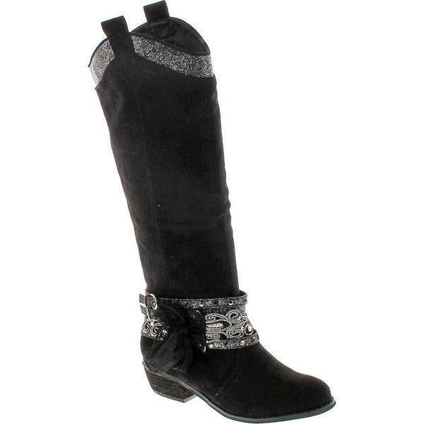 Not Rated Womens Midnight Dream Riding Boots
