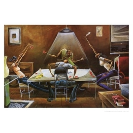 ''Spades'' by Frank Morrison African American Art Print (22 x 32 in.)