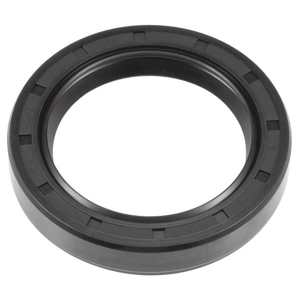 Oil Seal, TC 42mm x 58mm x 10mm, Nitrile Rubber Cover Double Lip - 42mmx58mmx10mm
