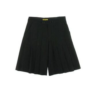 Catherine Malandrino Womens Textured Pintuck Dress Shorts - 2