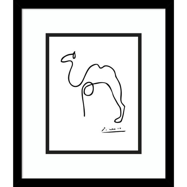 Porch & Den Pablo Picasso 'Camel' Framed Art Print. Opens flyout.