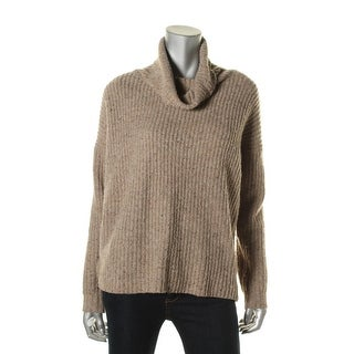 Soft Joie Womens Wool Blend Ribbed Knit Tunic Sweater - S
