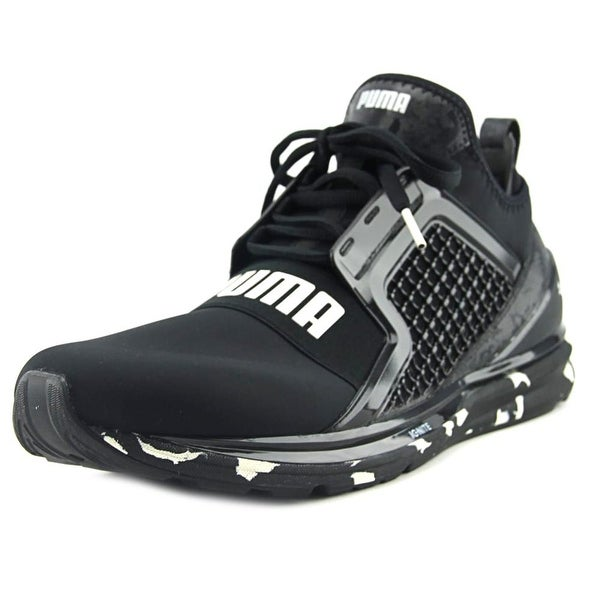 Shop Puma Ignite Limitless Swirl Men Round Toe Synthetic Black ... 99a92a2d8