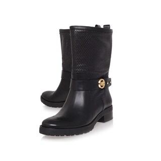 MICHAEL Michael Kors Womens Daria Flat Boot Closed Toe Mid-Calf Fashion Boots