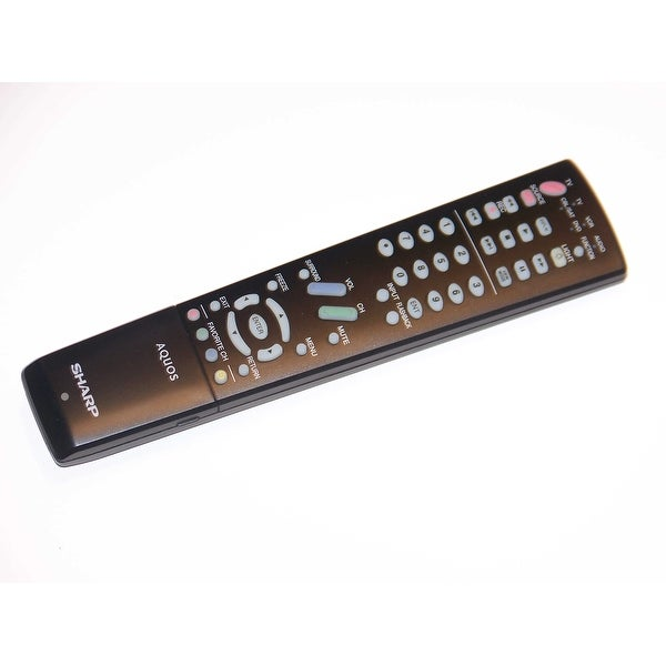 OEM Sharp Remote Control Specifically For: LC42D64U, LC-42D64U, LC42HT3U, LC-42HT3U, LC46D64U, LC-46D64U
