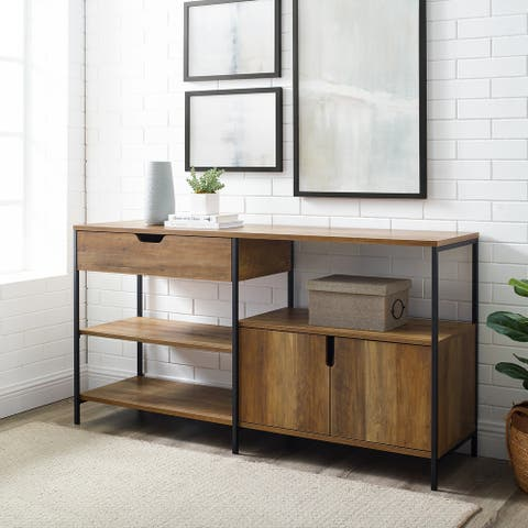 Carbon Loft 58-inch Open Shelving Sideboard