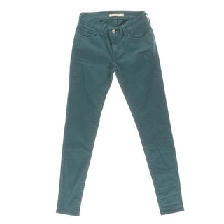 Levi's Womens 710 Colored Low Rise Jeans