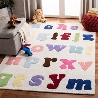 Link to Safavieh Handmade Kids Regiene Wool Rug Similar Items in Rugs
