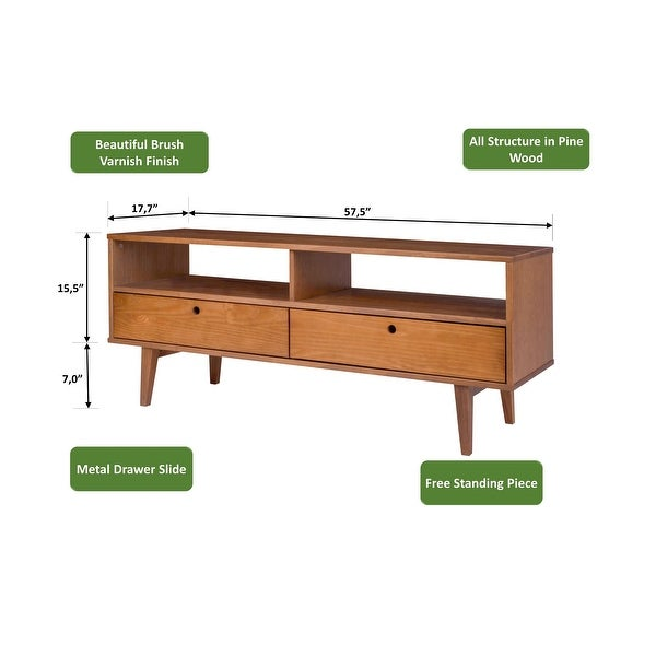 Carson Carrington Bockshult 58-inch TV Stand - 58 inches in width