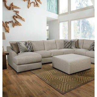 Link to ACME Petillia Modular Left Facing Chaise in Sandstone Fabric Similar Items in As Is