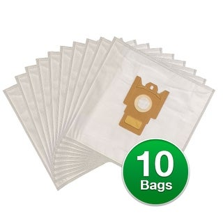 Replacement Type FJM Allergen Poly Wrapper Vacuum Bags For Miele Polaris Galaxy S4212 - 2 Pack