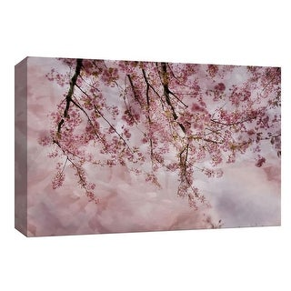 "PTM Images 9-148020  PTM Canvas Collection 8"" x 10"" - ""Another Joy of Spring"" Giclee Cherry Blossoms Art Print on Canvas"