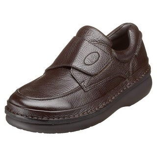 #followme Mens Scandia strap Leather Closed Toe Penny Loafer - 9.5