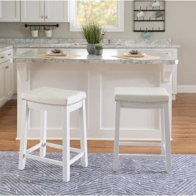 Copper Grove Willamette Solid Wood Counter Stool