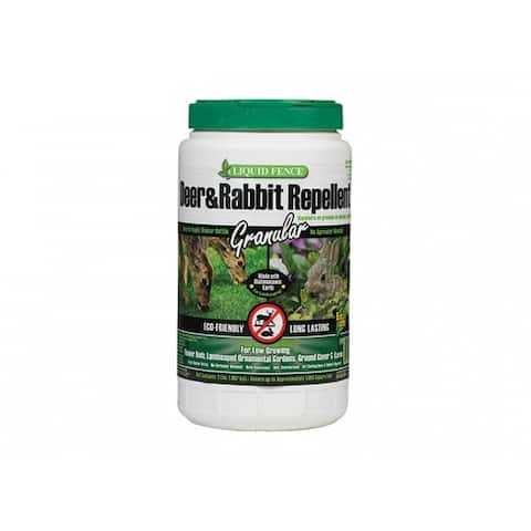 Liquid Fence HG-70266 Granular2 Deer & Rabbit Repellent, 2 Lb