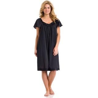 Vanity Fair Women's Coloratura Flutter Sleeve Nightgown