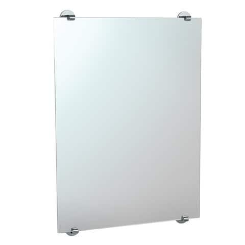 Gatco 1568 Minimalist Hanging Wall Mirror - Chrome