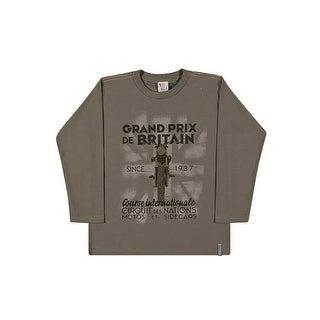 Boys Long Sleeve T-Shirt Graphic Tee Kids Pulla Bulla Sizes 2-10 Years
