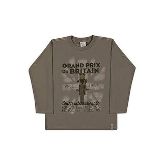 Boys Long Sleeve T-Shirt Graphic Tee Kids Pulla Bulla Sizes 2-10 Years (More options available)