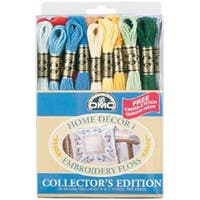 Home Decor 36/Pkg - Dmc Embroidery Floss Pack 8.7Yd