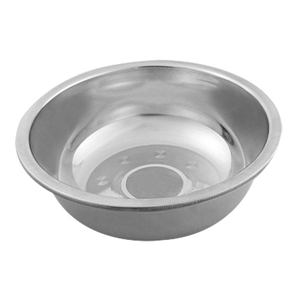 Unique Bargains Silver Tone 6cm Depth Stainless Steel Supper Bowl