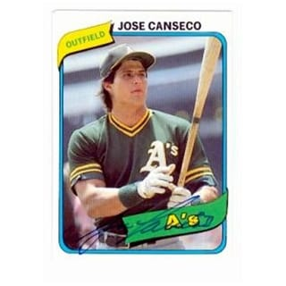 Photos Autographed Magazine>beckett Baseball Card Monthly> 1990> Jose Canseco Oakland