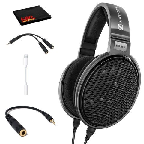 Sennheiser HD 650 Open Back Professional Headphone with Cable Adapter