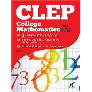 CLEP College Mathematics - Andy Gaus, Kathleen Morrison