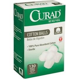 "Curad 130Ct 1"" Cotton Balls"