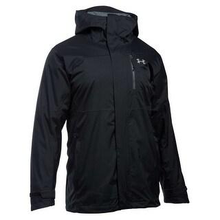 Under Armour Men's Snow Feature 3-in-1 Black Jacket Size Medium