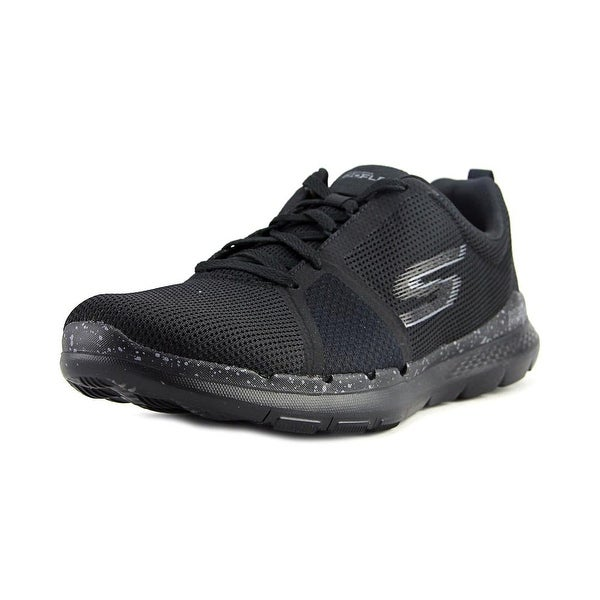 Skechers Go Flex Train Women Black Running Shoes