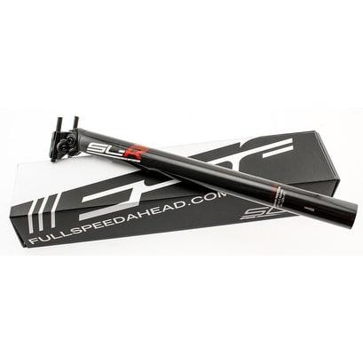 FSA SL-K ITC 0//15 Setback Bike Seatpost 31.6mm X 400mm UD Carbon Black New