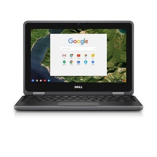"Dell Chromebook 3189 11.6"" Non-Touch Celeron N3060 1.6GHz 4GB RAM 16GB SSD Laptop (Grade A)"