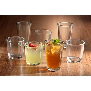 Link to Luminarc 16 Piece Cocoon Glass Tumbler Set Similar Items in Glasses & Barware