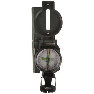 Brunton 9077 Lensatic Military Style Sighting Metal Compass - Green