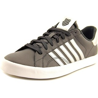 K-Swiss Belmont SO Round Toe Leather Sneakers