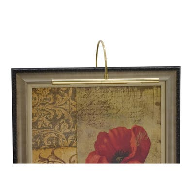 House of Troy APR1661 Two Light Picture Light Advent Polished Brass - One Size