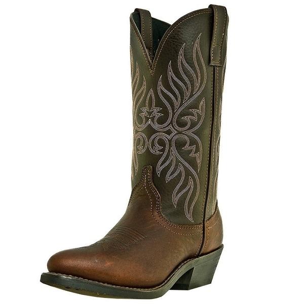 Laredo Western Boots Womens Cowboy Kelli Trucker Copper Kettle