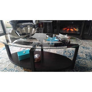 Oliver & James Tanner Espresso Coffee Table