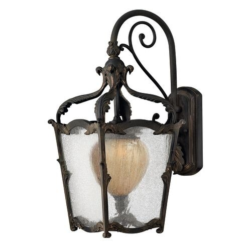 """Hinkley Lighting 1424 20.5"""" Height 1 Light Lantern Outdoor Wall Sconce from the Sorrento Collection"""