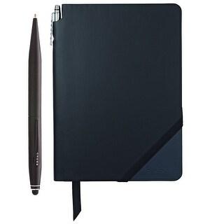 Cross Tech2 Ballpoint pen with refills and Jotzone Journal (Black/Navy - Medium)