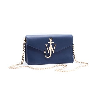 J.W. Anderson Signature Logo Navy Purse Shoulder Bag