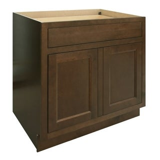 "Healdsburg 33"" Double Door Base Cabinet with Dovetail Drawer and Full Extension Soft Close Slides"