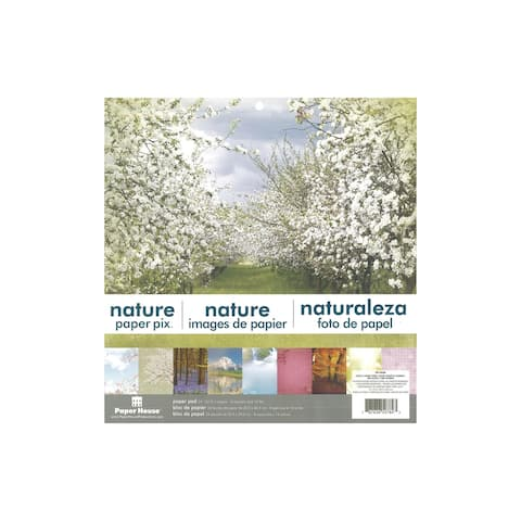 Pp-0036e paper house paper pad 12 nature