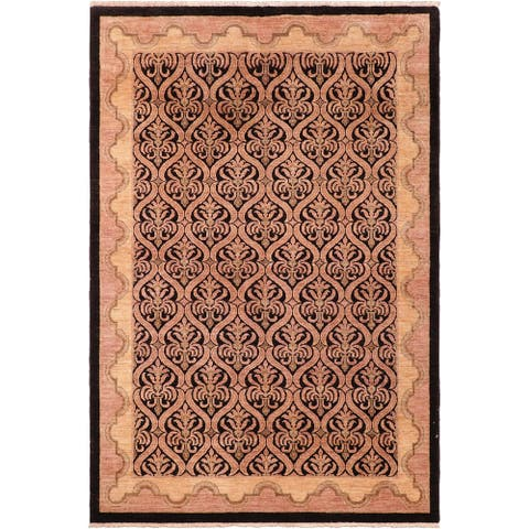 """Bohemien Ziegler Nickole Hand Knotted Area Rug -6'0"""" x 8'9"""" - 6 ft. 0 in. X 8 ft. 9 in."""