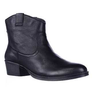 Kenneth Cole REACTION Hot Step Western Boots - Black