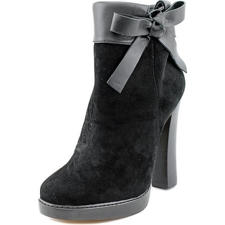 Nina Nell Women Round Toe Suede Ankle Boot