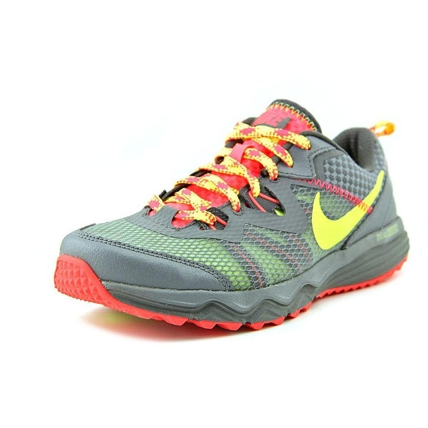 Nike Dual Fusion Trail Round Toe Synthetic Trail Running